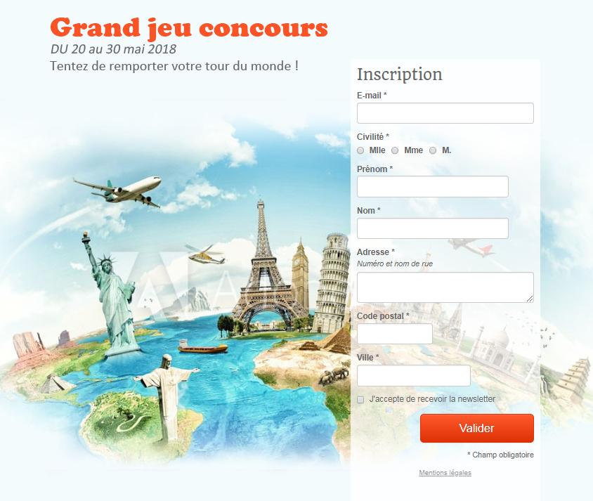 Webmarketing : jeu-concours